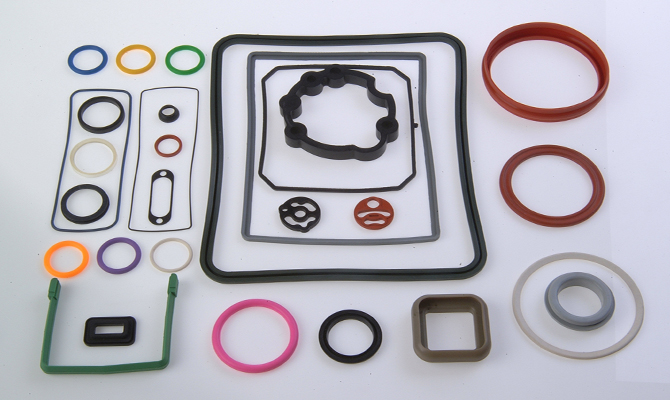 Custom Elastomer Components - Rubber Seals - Die Cut Gaskets - Metal, Rubber & Plastic Vulcanizing - California